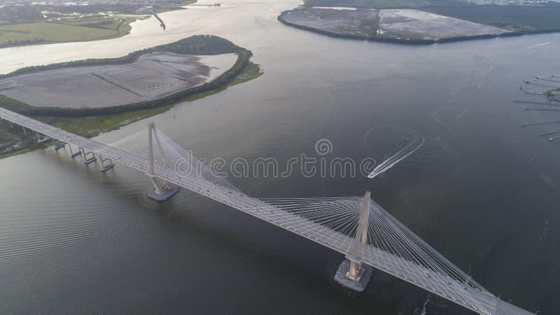 Arthur Revenel Bridge foto de archivo