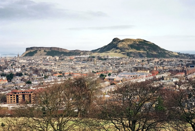 Download Arthur's Seat Edinburgh stock image. Image of mountains - 101993