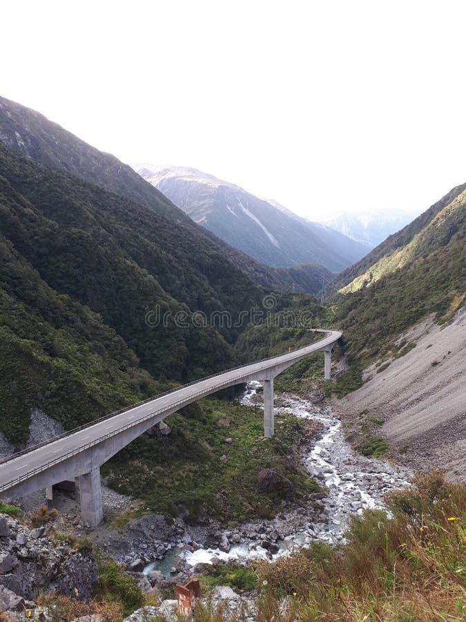 Arthurs Pass New Zealand royalty free stock photos