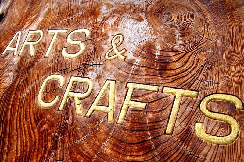 Arti ed iscrizione dei mestieri immagini stock libere da diritti