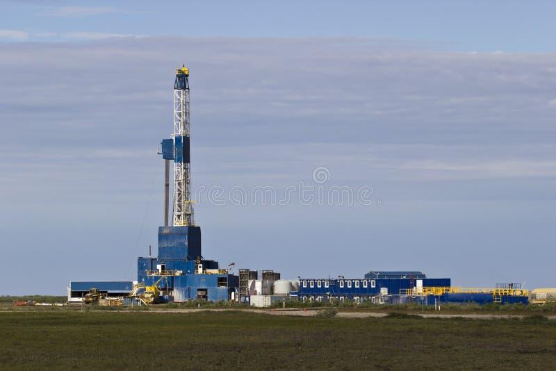Artic Ölplattform 4 stockbild