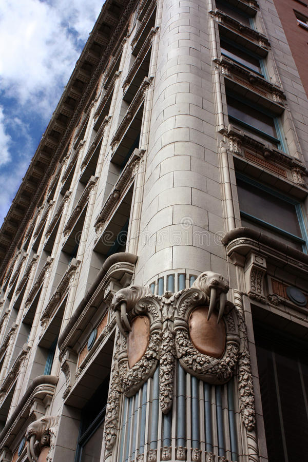Artic Club building in Seattle royalty free stock image