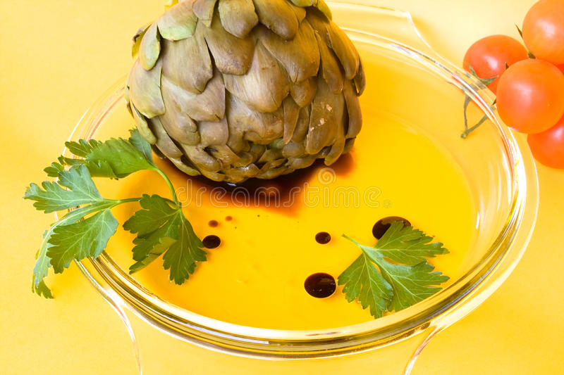 Artichokes With Vinaigrette