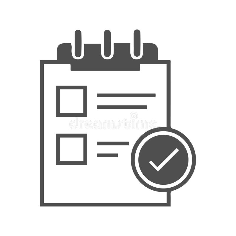 Article Icon/Article submission stock illustration