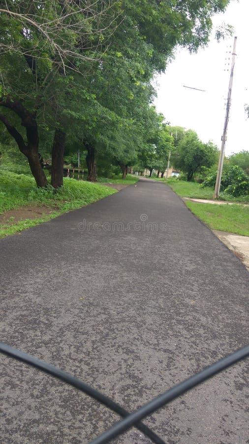 Articles électriques d'arbre de route photos stock