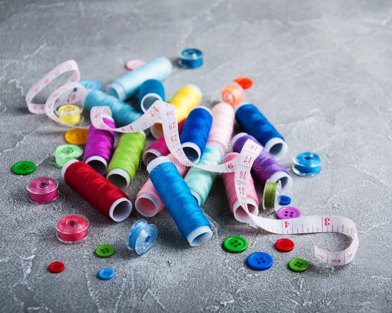 Articles pour la couture images libres de droits