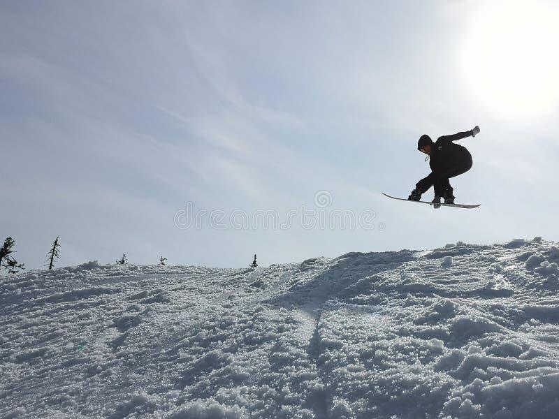 Articolazione dello snowboard immagini stock libere da diritti