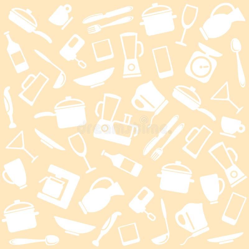 Articoli ed elettrodomestici illustrazione vettoriale