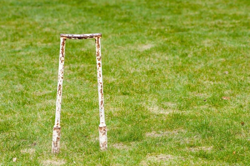 Articolo sportivo - ingranaggio del croquet fotografie stock