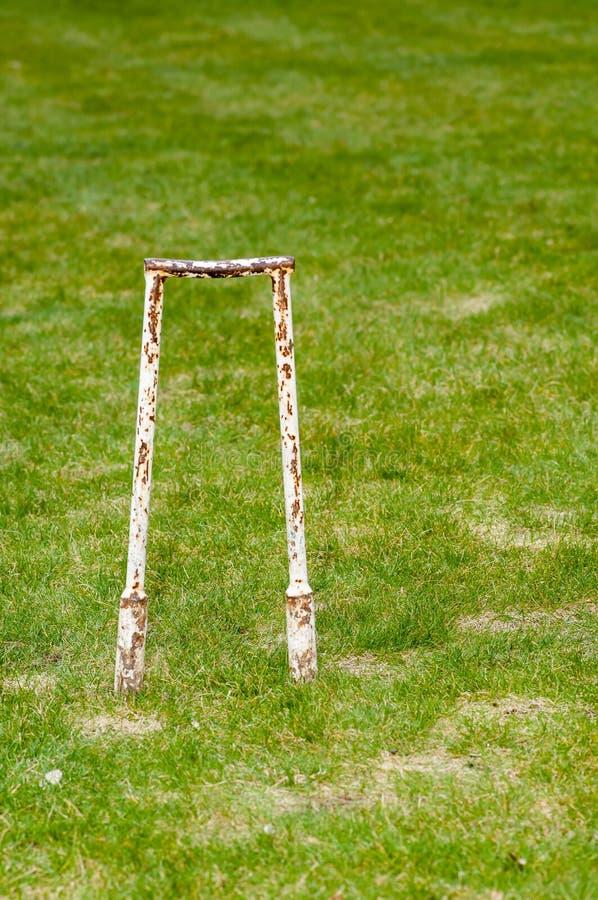 Articolo sportivo - ingranaggio del croquet fotografia stock libera da diritti