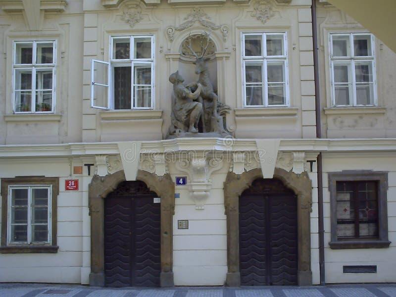 Artictecture des alten Prags, Hauptstadt der Tschechischen Republik stockbild
