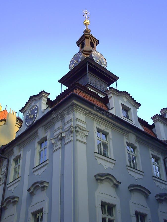 Artictecture di vecchia Praga, capitale della repubblica Ceca immagini stock libere da diritti