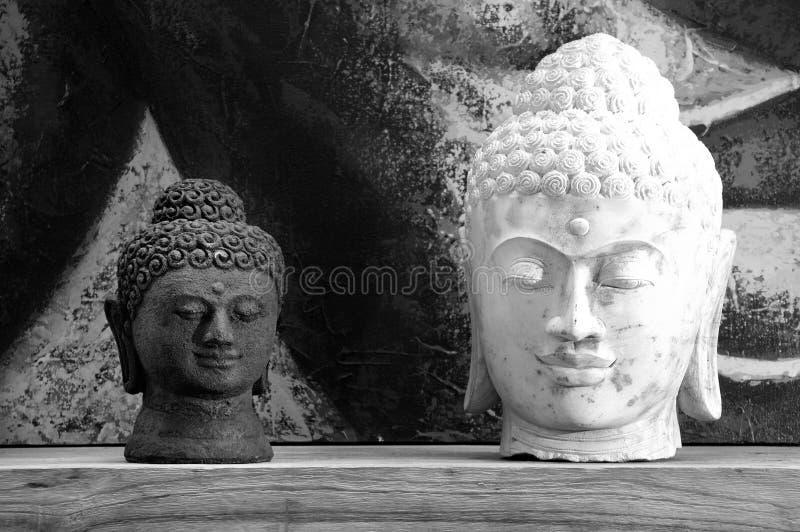 Buddha Head Statue royalty free stock image