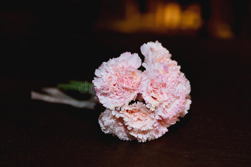 Artifical carnation royalty free stock images