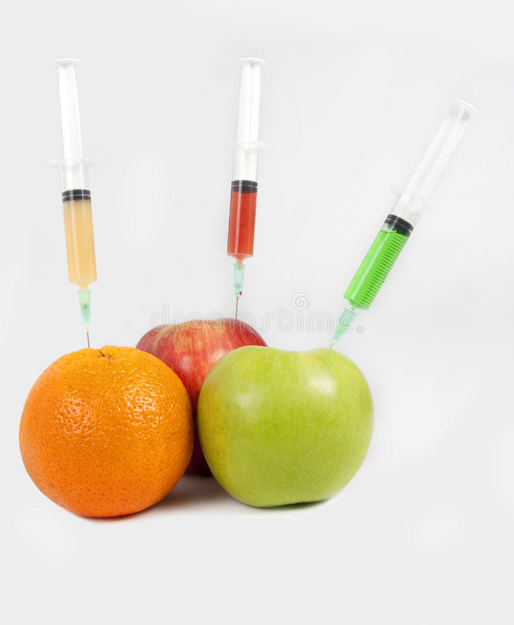 ARTIFICAL FRUITS stock images