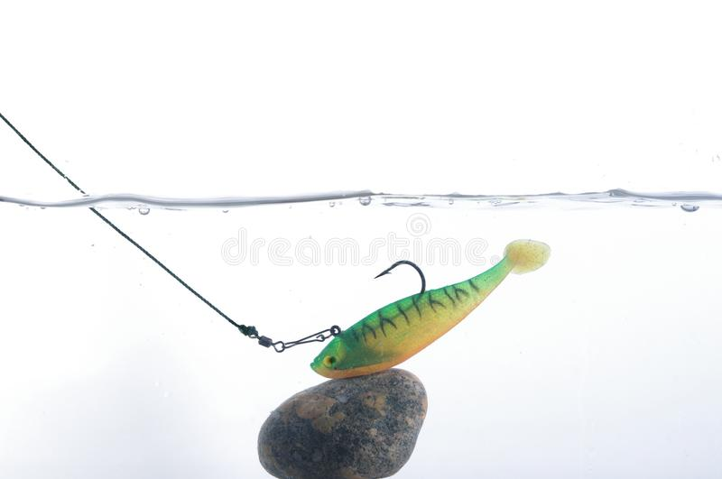 Artificial angling bait stock images