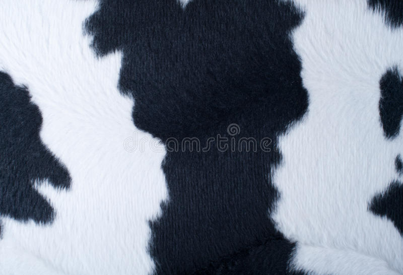 Download Artificial Black-and-white Fur Stock Image - Image: 12562457