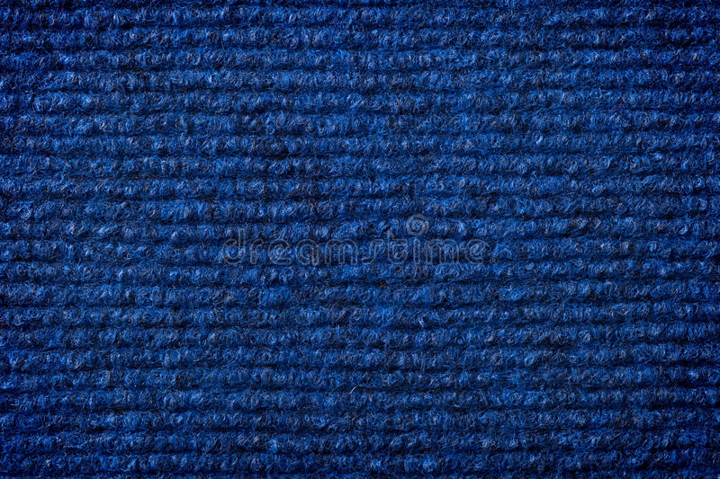 Artificial Cotton. Dark blue artificial cotton texture for background. Top view royalty free stock photography