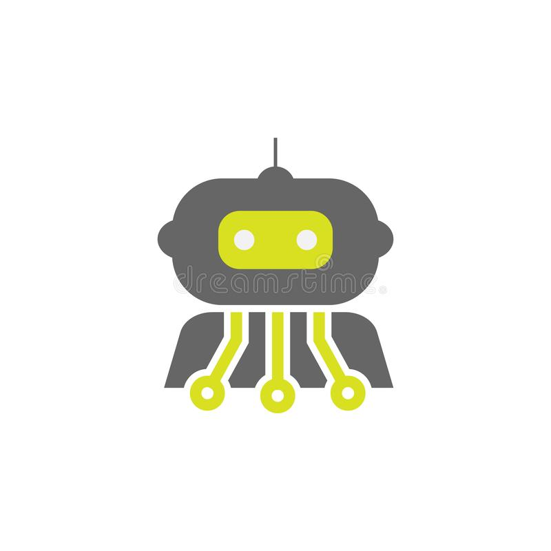 Artificial, cybernetics icon. Element of Science experiment icon for mobile concept and web apps. Detailed Artificial, cybernetics vector illustration