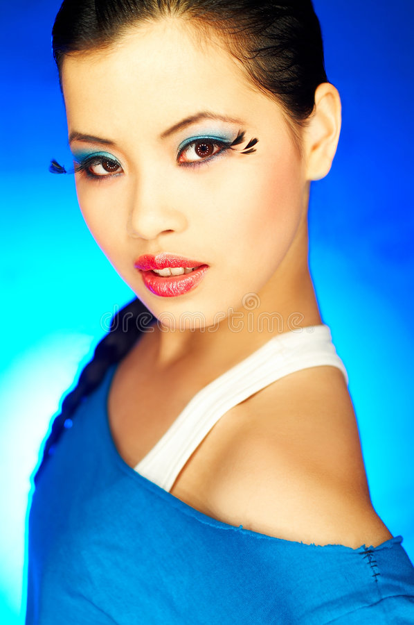 Artificial Eyelashes 2 Stock Image