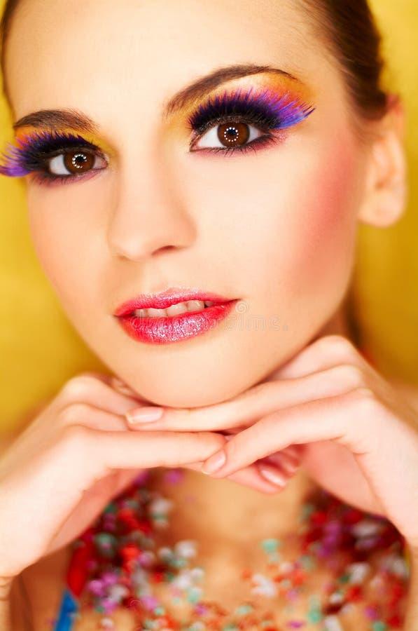 Download Artificial Eyelashes Royalty Free Stock Image - Image: 673326