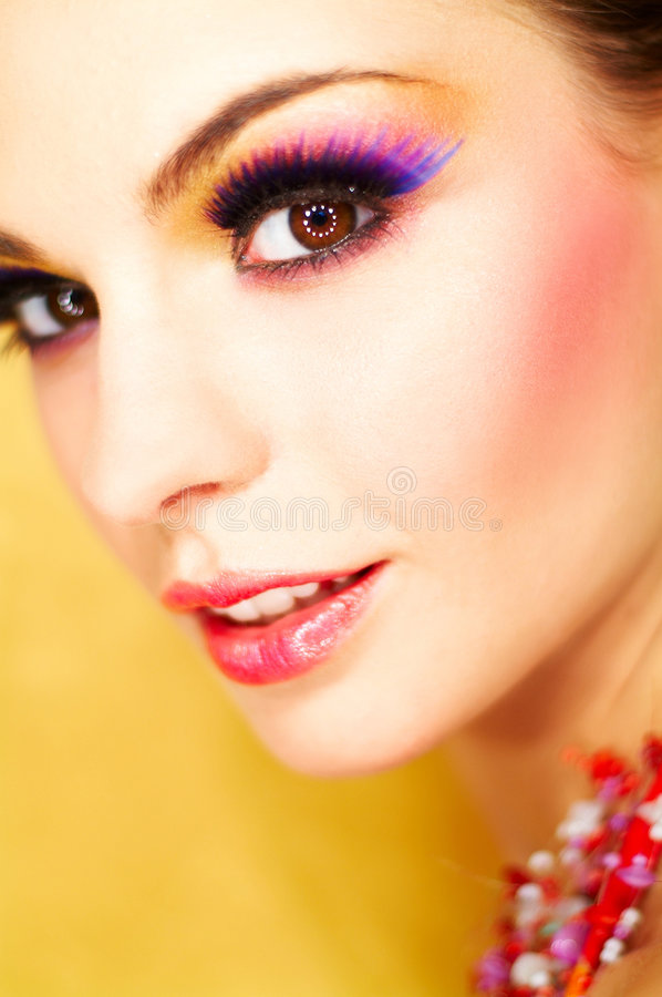Free Artificial Eyelashes Royalty Free Stock Images - 673339