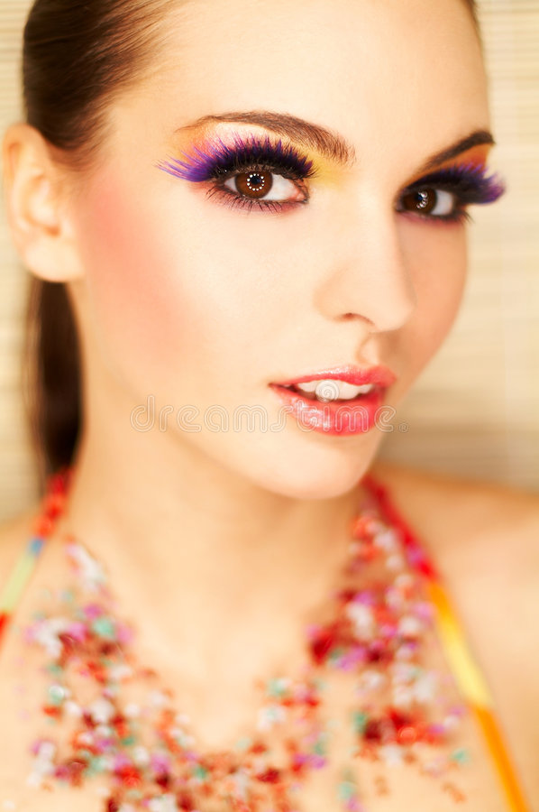 Download Artificial Eyelashes Stock Photos - Image: 673343