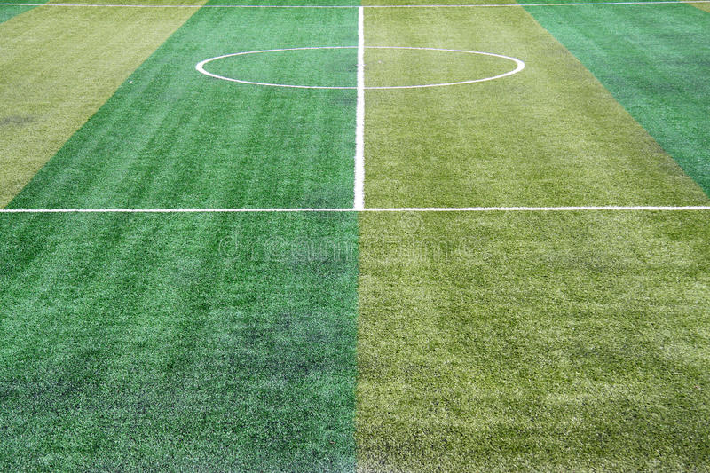 Artificial Field Grass Royalty Free Stock Image