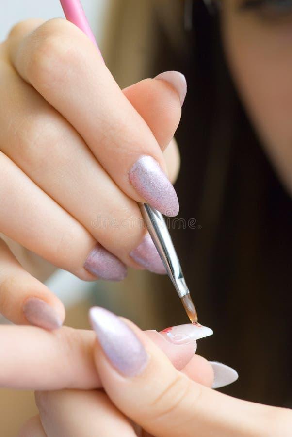 Download Artificial fingernails stock photo. Image of incrustation - 7181296