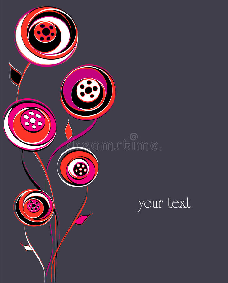 Artificial Flower Illustration Stock Photos