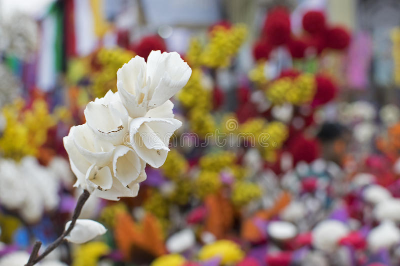 Download Artificial Flowers, Handicraft Items On Display , Kolkata Stock Photo - Image: 83703443