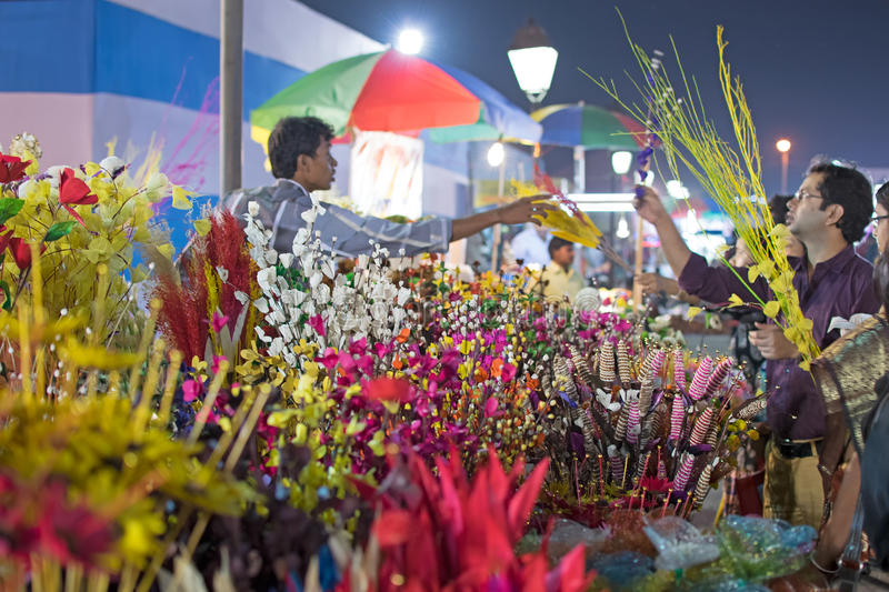 Download Artificial Flowers, Handicraft Items On Display , Kolkata Editorial Photography - Image: 83704217