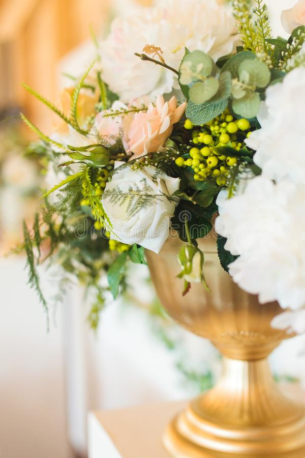 Artificial flowers of new generation stock photo