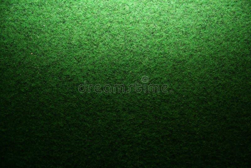 Artificial Grass Detail. Green Grass Artificial Closeup / Detail / Green Gradient Scale stock image