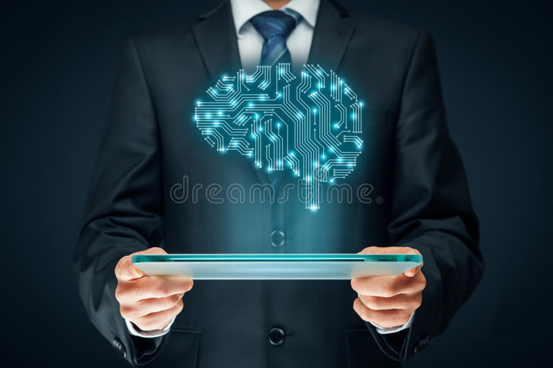 Artificial intelligence. AI, data mining, expert system software, genetic programming, machine learning, deep learning, neural networks and another modern
