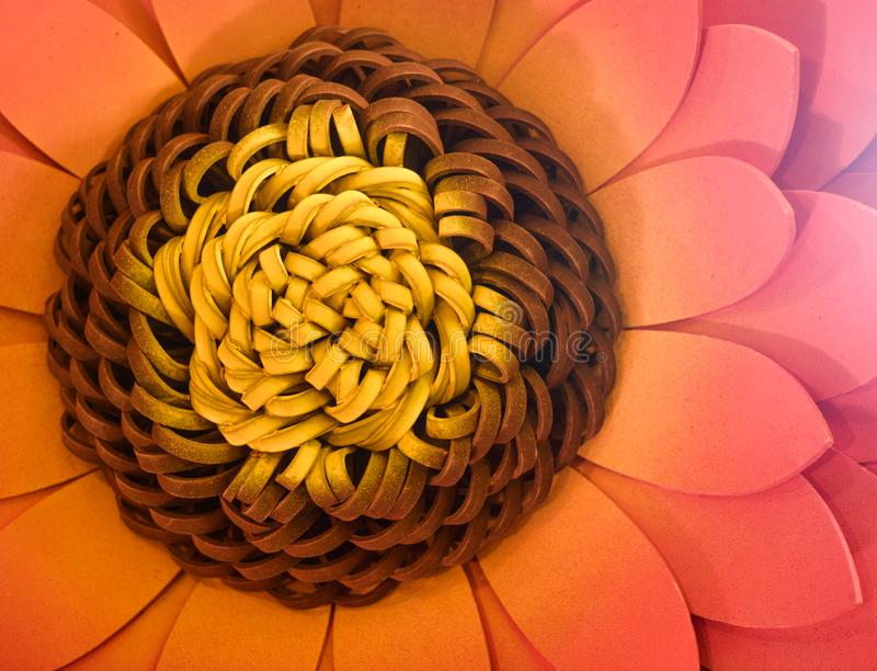 Artificial lotus flower design for decoration purposes. This kind flowers are made with rubbers. its using area is social event decorations royalty free stock photography