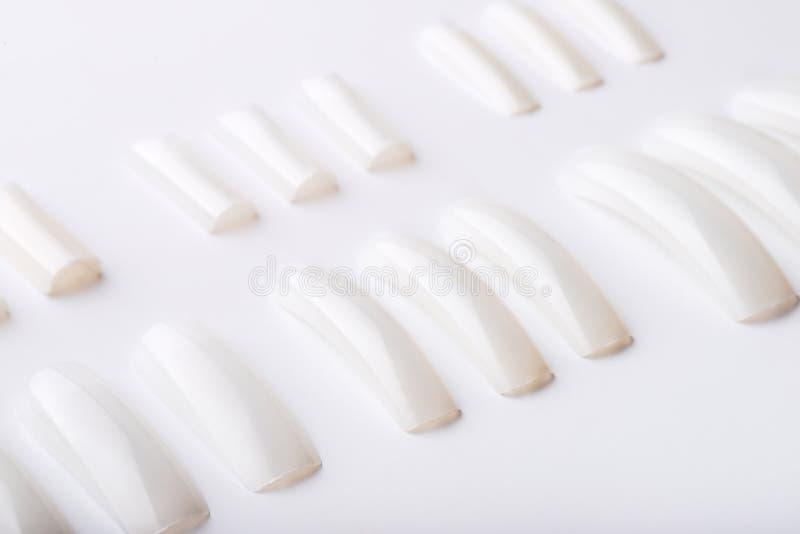 Artificial nails royalty free stock photos