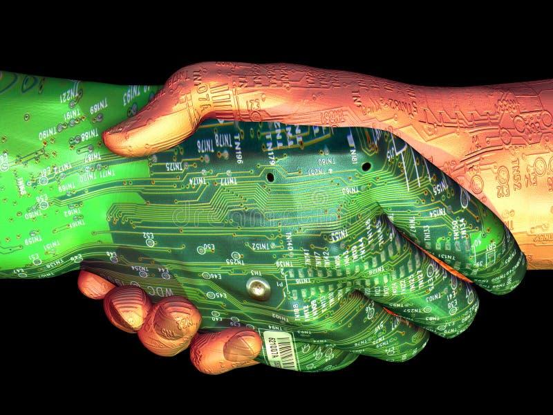 Artificial orgânico ilustração stock