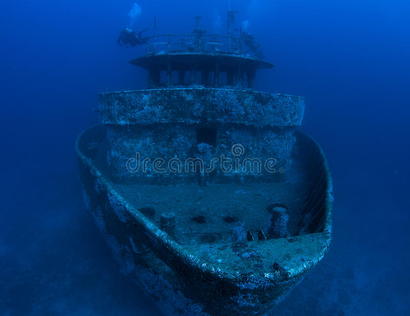 Artificial Reef- royalty free stock photography
