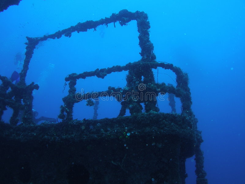 Artificial reef stock photography