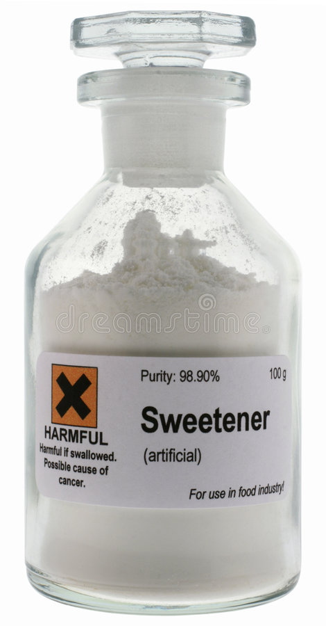 Artificial sweetener stock photography