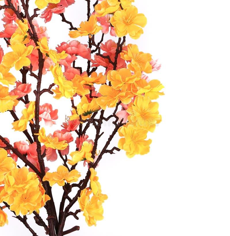 Download Artifician Sakura With Flowers. Stock Image - Image: 38557901