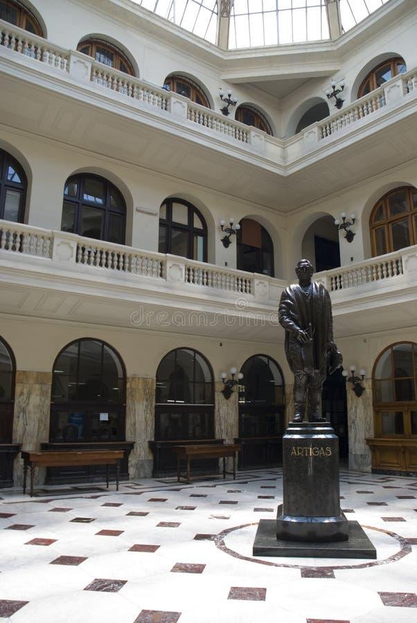artigas蒙得维的亚s雕象 免版税库存图片