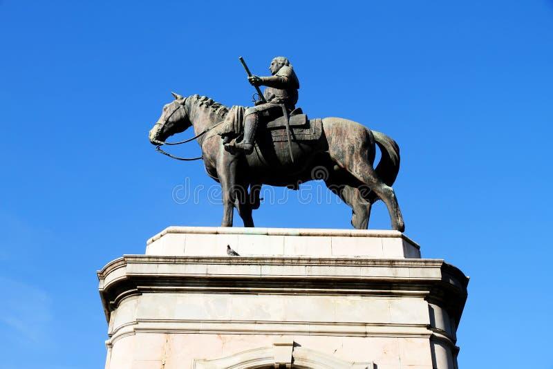 artigas generał statua obraz royalty free