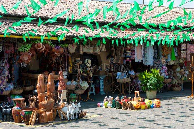 Artigianato di nordest brasiliano fotografie stock libere da diritti