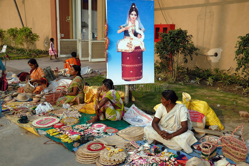 Artigianato in India immagine stock libera da diritti