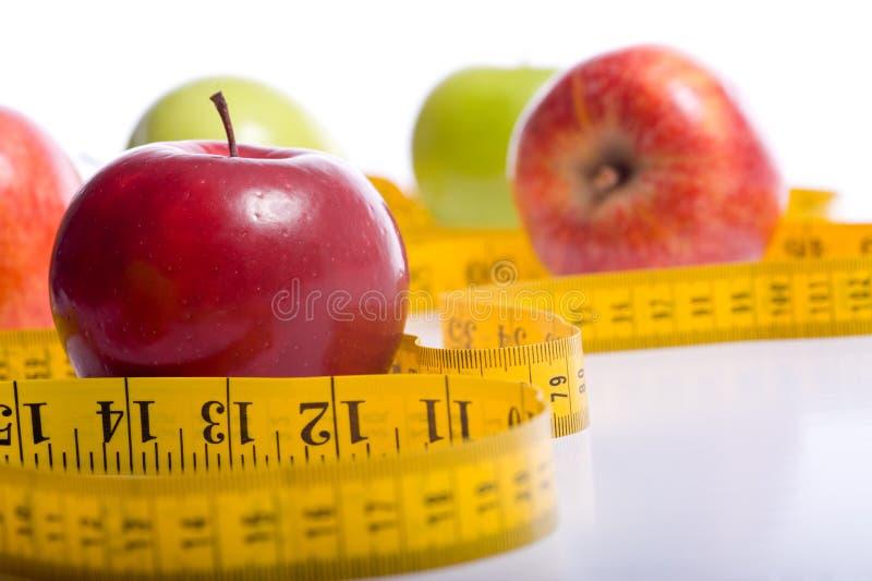 Artigos de dieta foto de stock royalty free