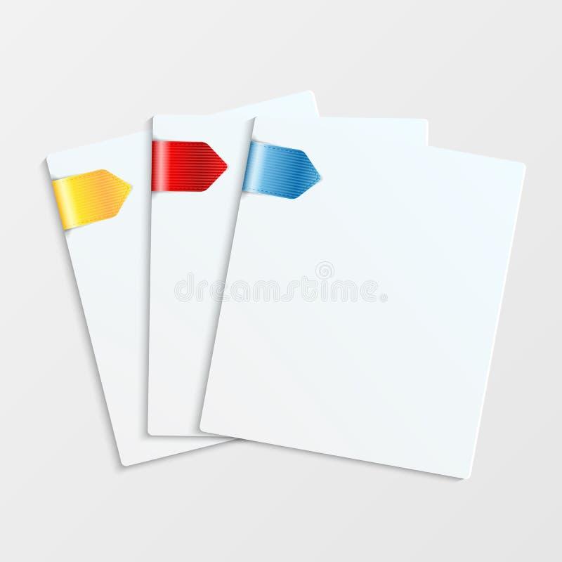 Artigos de papelaria ilustração stock