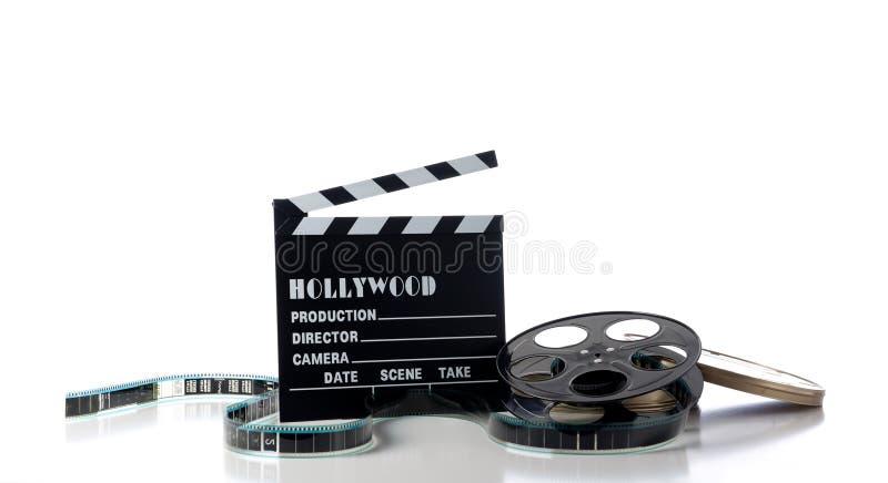 Artigos do filme de Hollywood fotografia de stock royalty free