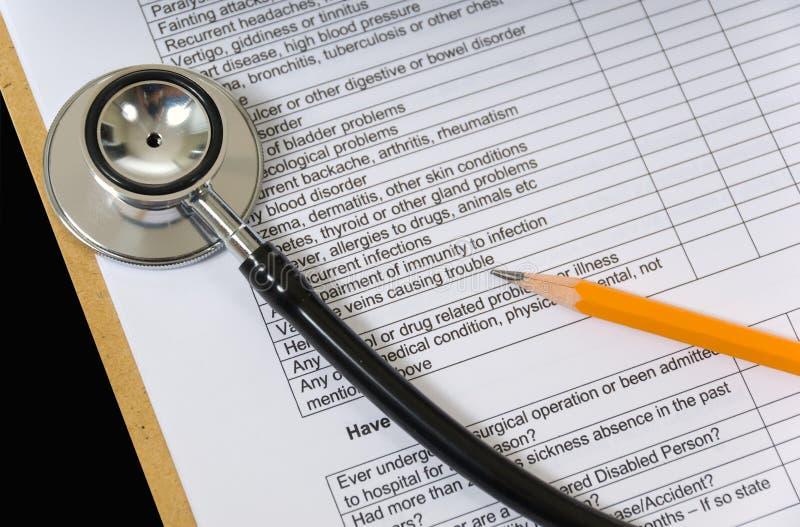 Artigos médicos imagem de stock